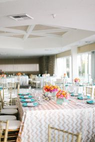 Obsessed with the chevron tablecloth