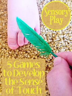 Sensory Activities: 5 Games To Develop The Sense Of Touch