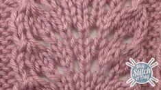 The Ostrich Plume Stitch :: Knitting Stitch #83