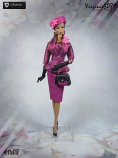 Tenue Outfit Accessoires Pour Fashion Royalty Barbie Silkstone Vintage 1408 | eBay