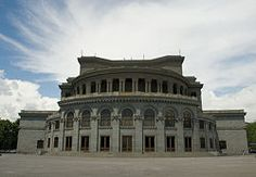 Yerevan,Opera House--loved dancing here.     I loved watching you!