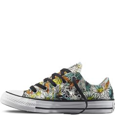 fed821f40702 Chuck Taylor All Star Daisy Print Noir black Sneakers
