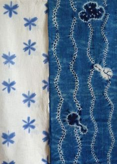 Itajime and stitch resist shibori | Srithreads