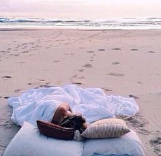 There's nothing quite like laying in a bed made on sand watching the stars come out..