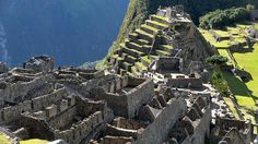 Machu Picchu was recognized as a World Wonder in 2007. (Cris Bournocle/AFP/Getty Images)  weather.com