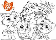 Print Buffycats 44 Cats Coloring Pages Cat Coloring Page Coloring Pages Cat Coloring Book