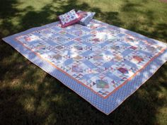 90 Fabrics in this #quilt.  That's why quilters don't throw anything away.