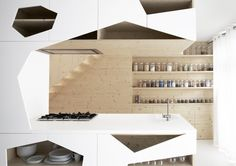 Image result for geometric kitchen cupboards