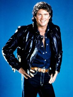 I don't care what anyone says David Hasselhoff was hot when he was on Knight Rider.