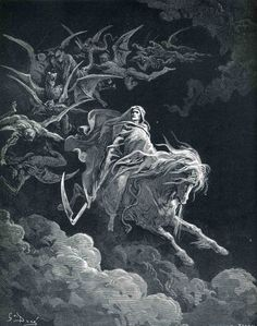 The Vision of Death, Gustave Dore