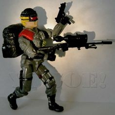 GI Joe Body Part  1987 Blocker     Left Arm          C8.5 Very Good