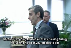 Important lessons from the foul-mouthed star of The Thick Of It and In The Loop. Malcolm Tucker, Think Of Me, Reaction Pictures, Simple Way, Doctor Who, Movie Tv, Mirrored Sunglasses, Comedy, Language