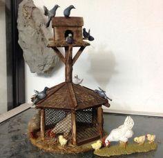 Miniature Crafts, Miniature Houses, Miniature Dolls, Christmas Diy, Christmas Decorations, Christmas Christmas, Christmas Presents, Village House Design, Ceramic Houses