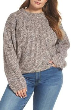 Heritage Stitch Sweater (Plus Size) - Women's fashion Sweater online. Shop the latest collection of BP. Heritage Stitch Sweater (Plus Size) - Women's fashion Sweater from the popular stores - all in one Plus Size Sweaters, Sweaters For Women, Plus Size Fall Fashion, Spandex Material, Cotton Sweater, Star Print, Pulls, Plus Size Women, Pullover