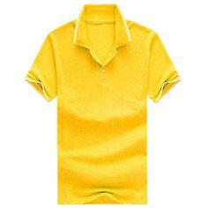 283d7fd284b Brand New Men s Polo Shirt Cotton Short Sleeve shirt sports jerseys golf  tennis Men S Summer Breathable Casual Polo Shirt