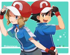 Satoshi and Serena <3