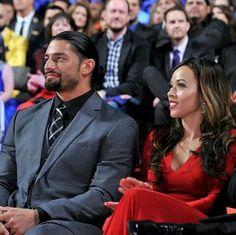 Roman Reigns & Wife