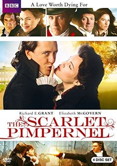 Richard E. Grant & Ronan Vibert & Jonathan Stedall-Scarlet Pimpernel, The: The Complete Series Martin Shaw, The Old Curiosity Shop, The Scarlet Pimpernel, Elizabeth Mcgovern, Adventure Novels, Pride And Prejudice, Classic Tv, Period Dramas, Good Movies