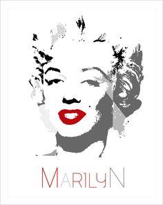 Marilyn (50º aniversario de su muerte). Ilustración de Victoria Climenti