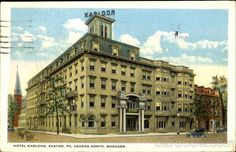 Karldon Hotel, of old in Easton. It is long demolished. Pity - it was well-regarded in its day.