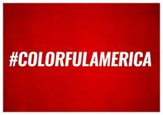#colorfulamerica | DEMOCRACY DELIVERED | Send real postcards online | Democracy Delivered