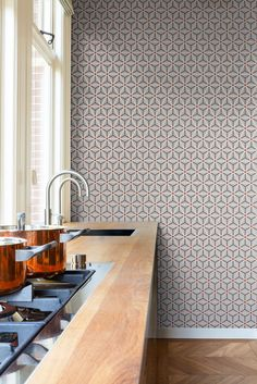 Wallpaper/behang Layers by Edward van Vliet - BN