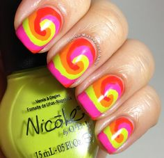 Fierce Makeup and Nails: Nicole by OPI Tinkerbell Swirls #NicolebyOPI
