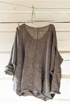 Oversize comfortable sweater Forest  | RUKE - Quality sweaters manufactory