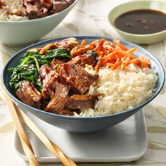 UNCLE BEN'S® Easy Rice Recipes   Korean Barbecue Rice Bowl