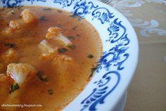 Obľúbené recepty: Karfiolová polievka