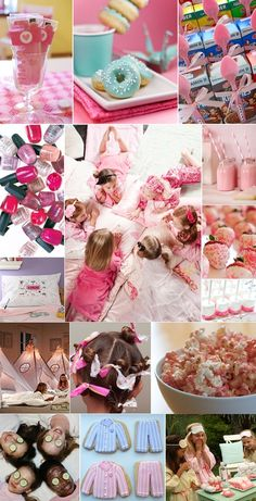 Cute ideas for a girl sleepover party!
