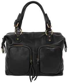 Forty degrees Leder Damen Handtasche