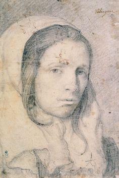 Diego Velázquez Busto de una chica joven (c. 1618) Biblioteca Nacional de España