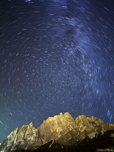 Fotografia Notturna a Socus, Cortina d'Ampezzo