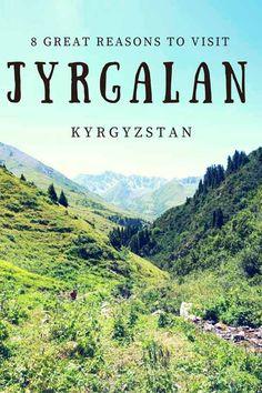 8 reasons to visit Jyrgalan, Kyrgyzstan - visiting a traditional Kyrgyz village, enjoying Kyrgyz hospitality, hiking & horse riding the Tien Shan mountains and more!
