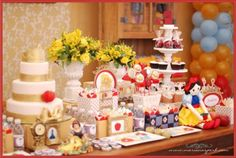 Snow White Princess Apple Girl 1st Birthday Party Planning Ideas