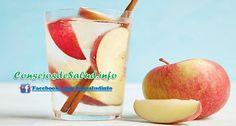 Agua de Manzana y Canela - la más eficiente bebida para bajar de peso - ConsejosdeSalud.info