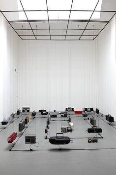 """Meanwhile, in Shanghai … (berlin)"" New Media Art, New Art, Starbucks Art, Sound Installation, Art Installations, Sound Art, Sound Sculpture, Art Shed, Instalation Art"