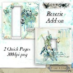 G & T DESIGNS REVERIE ADD-ON QUICK PAGES