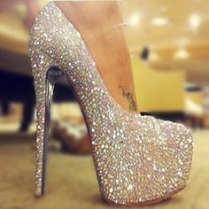 outfits that go with gold stilletos | ... heel clothes glitter heels |2013 ... | Shoes that make me go