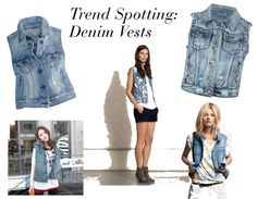 Trend Spotting: Denim Vests