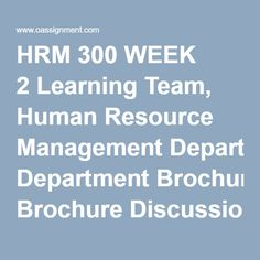 hrm 300 final exam Essays - largest database of quality sample essays and research papers on hrm 300 final examination.