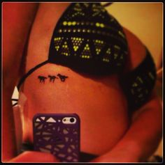 Wild Horses #tattoo #horses #tattooplacement