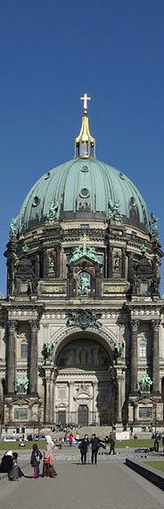 Berlin Cathedral is a stunning example of baroque architecture and you could easily spend hours walking around taking in the majesty of the place. Berlin, GERMANY