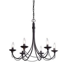 You cant beat simple love these lines lighting pinterest artcraft lighting wrought iron chandelier 25 inch x 23 inch ebony aloadofball Choice Image