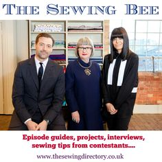 Our Sewing Bee section has had a revamp ready for series 4!  Check it out.