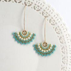 Pendientes de novia pendientes de perlas de novia por LioraBJewelry