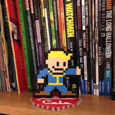 Fallout Pipboy and Nuka Cola Bottle Cap Stand -$10 plus shipping via Pixelated Creations