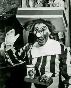 the first of clown mcdonald