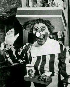 first model clown mcdonald